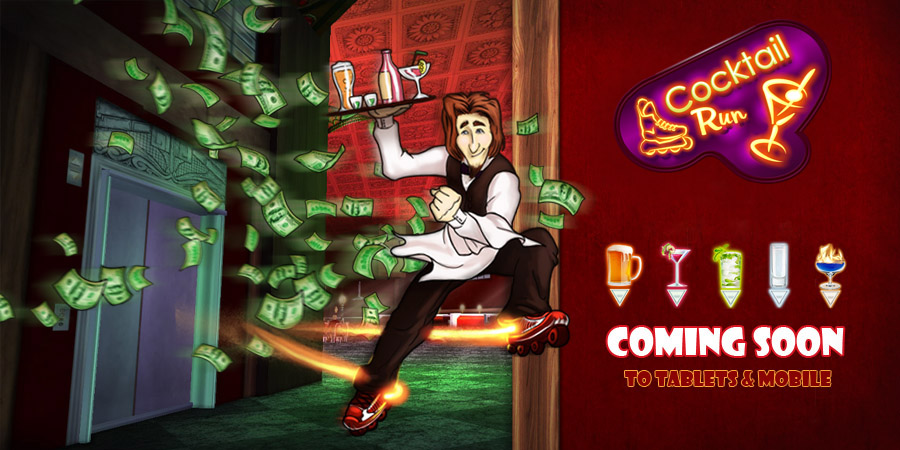 Cocktail Rush - Coming soon to tablets & mobile